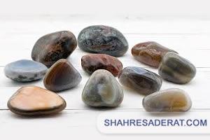 صادرات سنگ عقیق