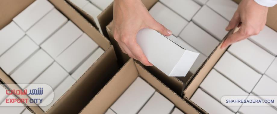 انواع بسته بندی گمرکی